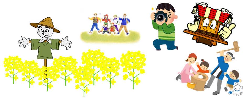 鮎原下菜の花まつりイメージ